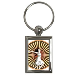 Woman Power Glory Affirmation Key Chains (rectangle)
