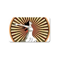 Woman Power Glory Affirmation Magnet (name Card)