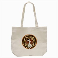 Woman Power Glory Affirmation Tote Bag (cream)