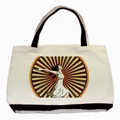 Woman Power Glory Affirmation Basic Tote Bag