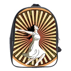 Woman Power Glory Affirmation School Bags(large)  by Nexatart