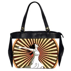 Woman Power Glory Affirmation Office Handbags (2 Sides)