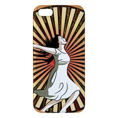 Woman Power Glory Affirmation Apple Iphone 5 Premium Hardshell Case by Nexatart