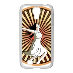 Woman Power Glory Affirmation Samsung Galaxy S4 I9500/ I9505 Case (white) by Nexatart
