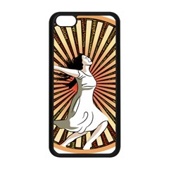 Woman Power Glory Affirmation Apple Iphone 5c Seamless Case (black)