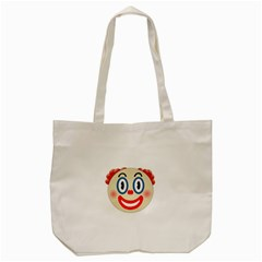 Clown Funny Make Up Whatsapp Tote Bag (cream) by Nexatart