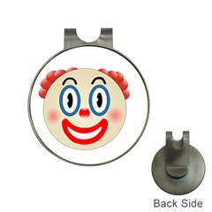 Clown Funny Make Up Whatsapp Hat Clips With Golf Markers