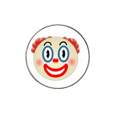 Clown Funny Make Up Whatsapp Hat Clip Ball Marker (10 Pack)