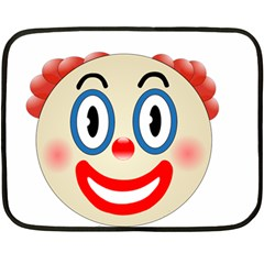 Clown Funny Make Up Whatsapp Fleece Blanket (mini) by Nexatart