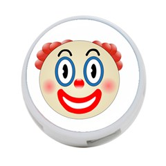 Clown Funny Make Up Whatsapp 4 Port Usb Hub (two Sides)