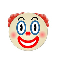 Clown Funny Make Up Whatsapp Shower Curtain 60  X 72  (medium)