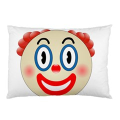 Clown Funny Make Up Whatsapp Pillow Case (two Sides) by Nexatart