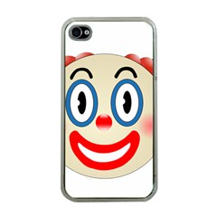 Clown Funny Make Up Whatsapp Apple Iphone 4 Case (clear)