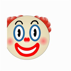 Clown Funny Make Up Whatsapp Small Garden Flag (two Sides) by Nexatart