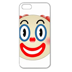 Clown Funny Make Up Whatsapp Apple Seamless Iphone 5 Case (clear) by Nexatart
