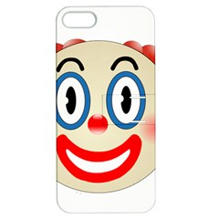 Clown Funny Make Up Whatsapp Apple Iphone 5 Hardshell Case With Stand by Nexatart