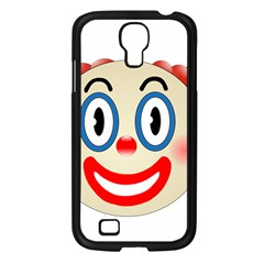 Clown Funny Make Up Whatsapp Samsung Galaxy S4 I9500/ I9505 Case (black) by Nexatart