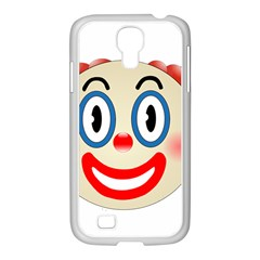 Clown Funny Make Up Whatsapp Samsung Galaxy S4 I9500/ I9505 Case (white)