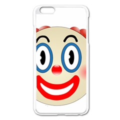 Clown Funny Make Up Whatsapp Apple Iphone 6 Plus/6s Plus Enamel White Case by Nexatart
