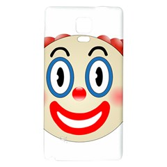 Clown Funny Make Up Whatsapp Galaxy Note 4 Back Case