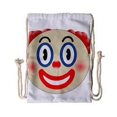 Clown Funny Make Up Whatsapp Drawstring Bag (small) by Nexatart