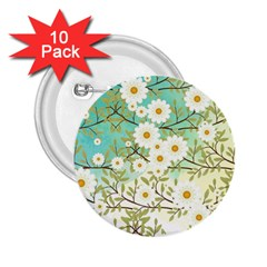 Springtime Scene 2 25  Buttons (10 Pack)  by linceazul
