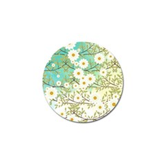Springtime Scene Golf Ball Marker by linceazul
