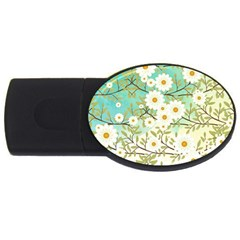 Springtime Scene Usb Flash Drive Oval (2 Gb) by linceazul