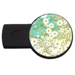 Springtime Scene USB Flash Drive Round (4 GB) by linceazul