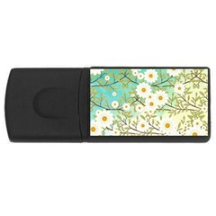 Springtime Scene Usb Flash Drive Rectangular (4 Gb) by linceazul