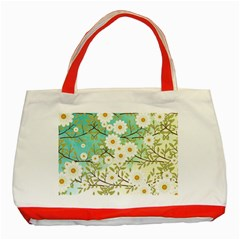 Springtime Scene Classic Tote Bag (red) by linceazul