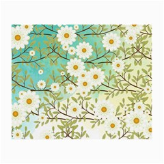 Springtime Scene Small Glasses Cloth (2 Side) by linceazul