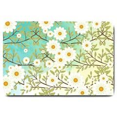 Springtime Scene Large Doormat  by linceazul