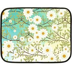 Springtime Scene Fleece Blanket (mini) by linceazul