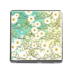 Springtime Scene Memory Card Reader (square) by linceazul