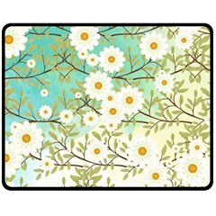 Springtime Scene Fleece Blanket (medium)  by linceazul