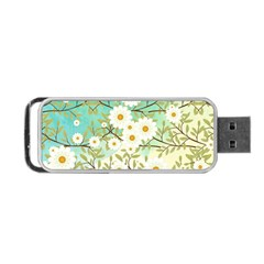 Springtime Scene Portable Usb Flash (two Sides) by linceazul