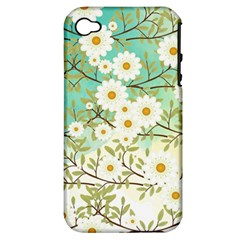 Springtime Scene Apple Iphone 4/4s Hardshell Case (pc+silicone) by linceazul