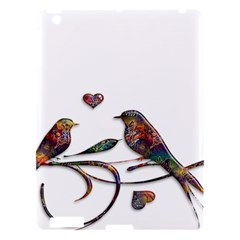 Birds Abstract Exotic Colorful Apple Ipad 3/4 Hardshell Case