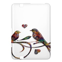 Birds Abstract Exotic Colorful Kindle Fire Hd 8 9  by Nexatart