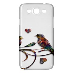 Birds Abstract Exotic Colorful Samsung Galaxy Mega 5 8 I9152 Hardshell Case  by Nexatart