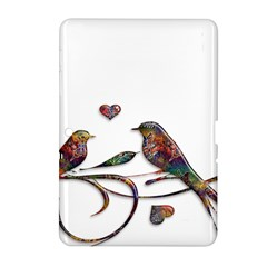 Birds Abstract Exotic Colorful Samsung Galaxy Tab 2 (10 1 ) P5100 Hardshell Case  by Nexatart