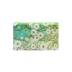 Springtime Scene Cosmetic Bag (xs) by linceazul