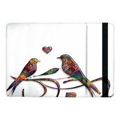Birds Abstract Exotic Colorful Samsung Galaxy Tab Pro 10 1  Flip Case