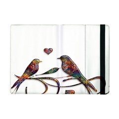Birds Abstract Exotic Colorful Ipad Mini 2 Flip Cases