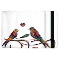 Birds Abstract Exotic Colorful Ipad Air Flip