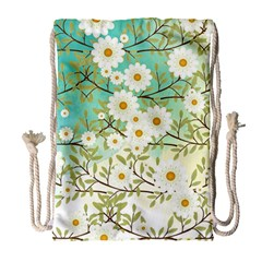 Springtime Scene Drawstring Bag (large) by linceazul