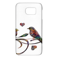 Birds Abstract Exotic Colorful Galaxy S6 by Nexatart