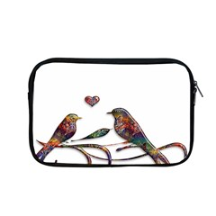 Birds Abstract Exotic Colorful Apple Macbook Pro 13  Zipper Case by Nexatart