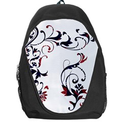 Scroll Border Swirls Abstract Backpack Bag